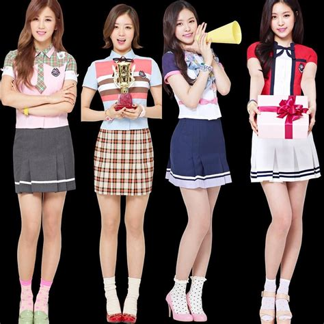 Apink make fans wanna go to school with their uniform
