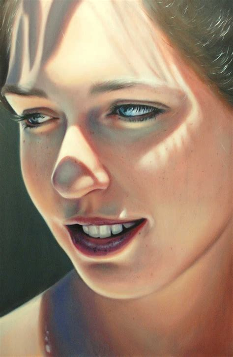 Bronwyn Hill, 1989 | Portrait /Figurative /Hyperrealist