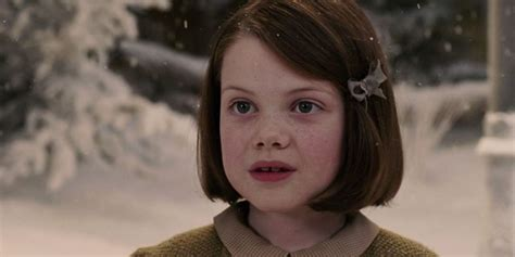 """Remember Little Georgie Henley from """"The Chronicles of"""