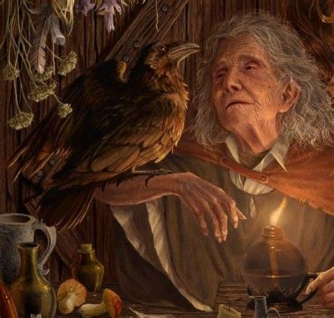 anceint ways forgotten   OLD CRONE 1   What is a witch