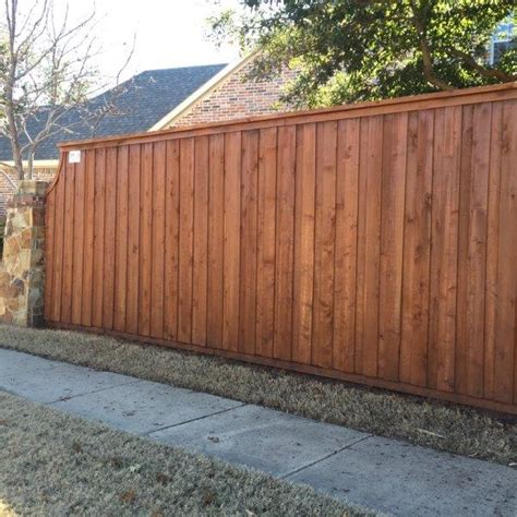 Fence Staining | Texas Best Stain
