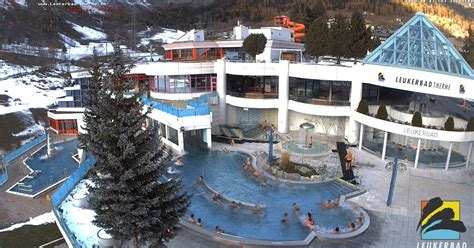 Romania Live: Leukerbad Therme live webcam Hotel Viktoria