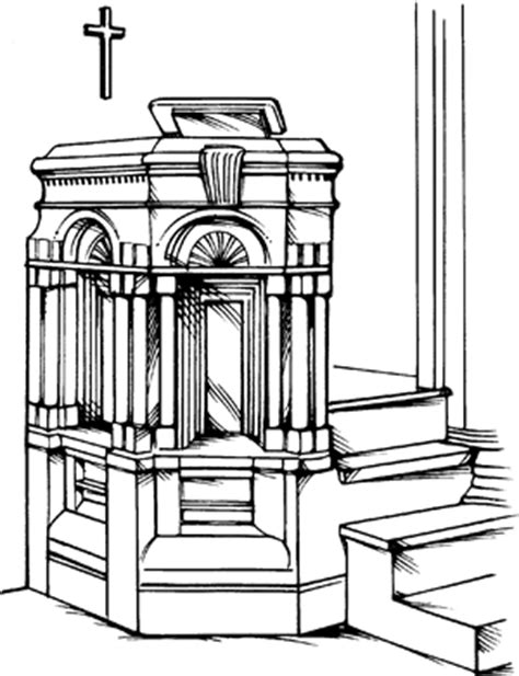 Pulpit - Definition for English-Language Learners from