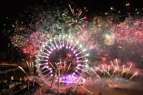 London New Year's Eve fireworks display: Revellers to be