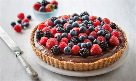 Chocolate mousse and mixed berry tart - InDaily