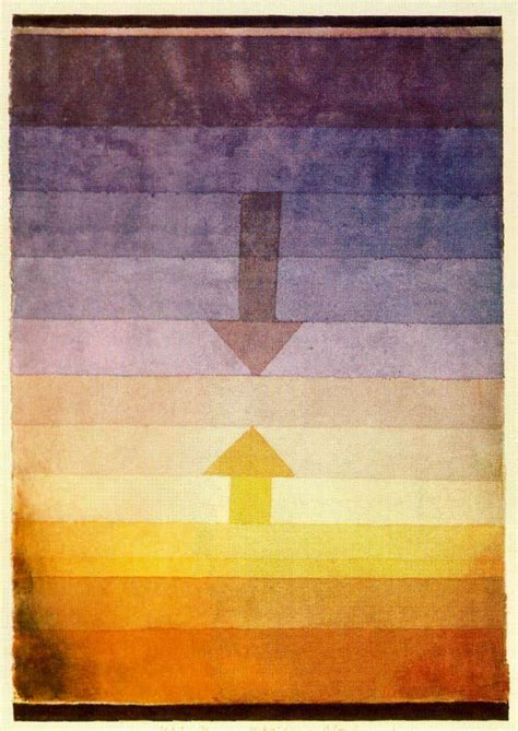 Separation in the Evening, 1922 - Paul Klee - WikiArt