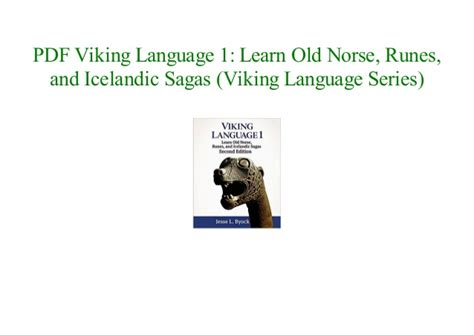 Viking Language 1: Learn Old Norse, Runes, and Icelandic