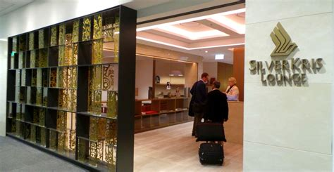 Singapore Airlines SilverKris Lounge at Sydney Airport
