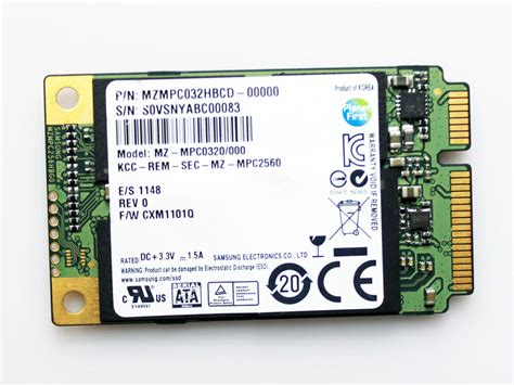 Samsung 32 GB,Internal (MZMPC032HBCD) (SSD) Solid State