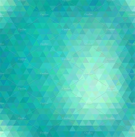 Abstract vector polygonal background ~ Graphics ~ Creative