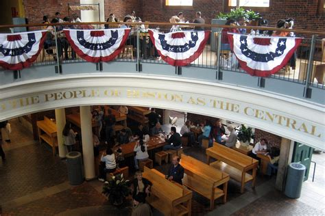 Boston - Freedom Trail: Quincy Market - Central Hall | Flickr