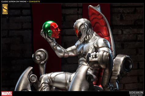 Marvel Classic Ultron on Throne Polystone Statue by