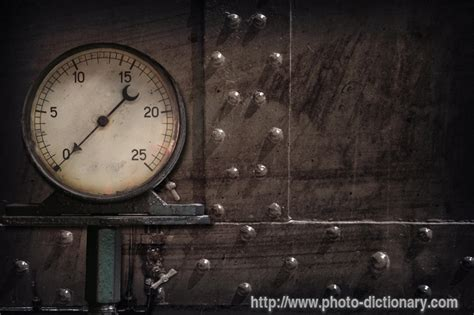 steam manometer - photo/picture definition at Photo