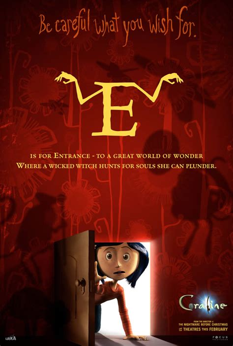 'Coraline' Unearths Official Site, New Featurettes and