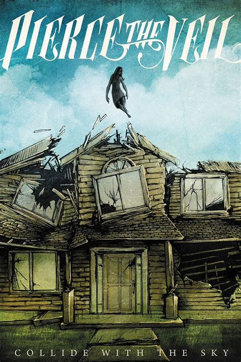 Collide with the sky iPhone wallpaper | PIERCE THE VEIL