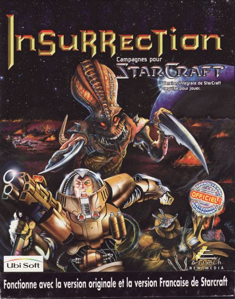 Insurrection: Campaigns for StarCraft (1998) Windows box