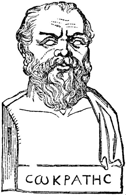 Bust of Socrates | ClipArt ETC