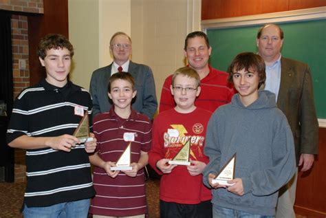 1st Place Teams Erie Chapter Mathcounts