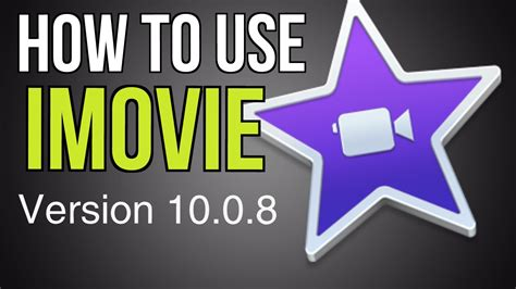 How to use iMovie for MAC: A course for Beginners - YouTube