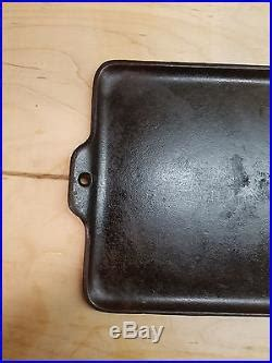 Vtg Griswold 1108 Cast Iron Family Grill No 18 Erie PA USA
