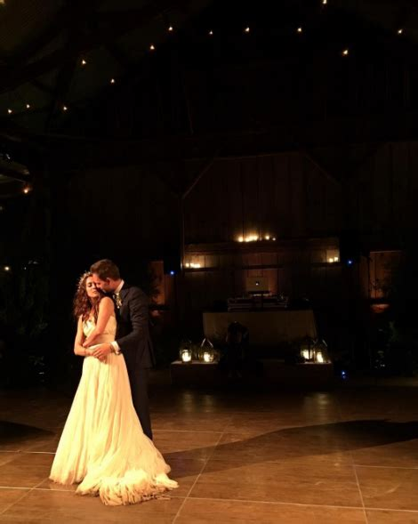 Troian and Patrick got married this weekend