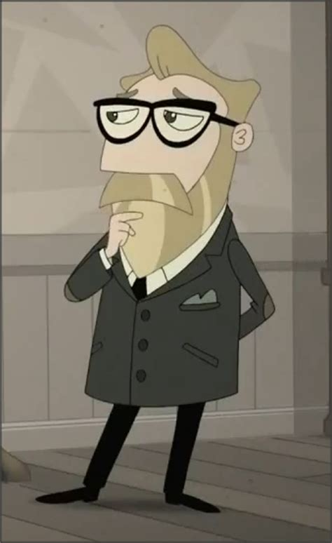 Professor Ross Eforp | Phineas and Ferb Wiki | Fandom