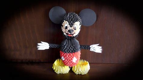 How to make a paper Mickey Mouse