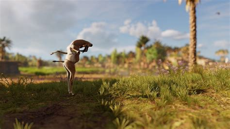 Assassin's Creed Origins Has A Hilarious Animal Glitch And