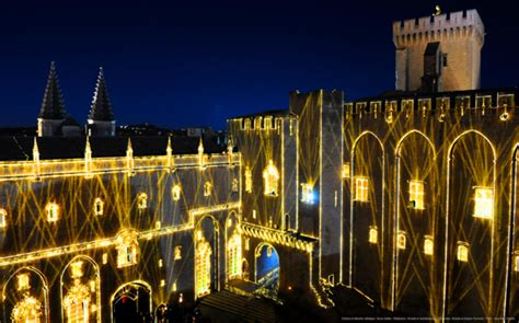 Palais des Papes Light Show Avignon : The Good Life France