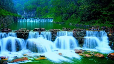 Waterfalls Rivers Nature 374050 : Wallpapers13