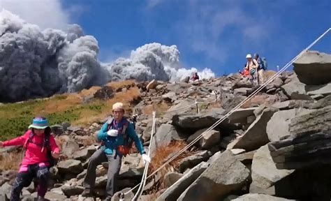Dramatic Footage and Photos Emerge of Japan's 'Killer Volcano'