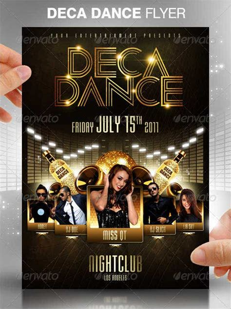 16+ Dance Party Flyer Templates - AI, Pages, PSD, Word