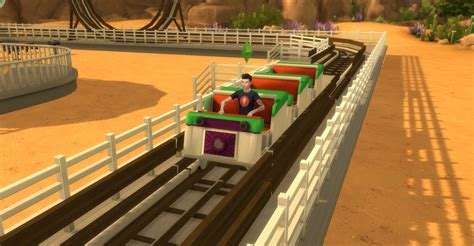 Necrodog MTS and S4S   Functional Roller Coaster Sims 4