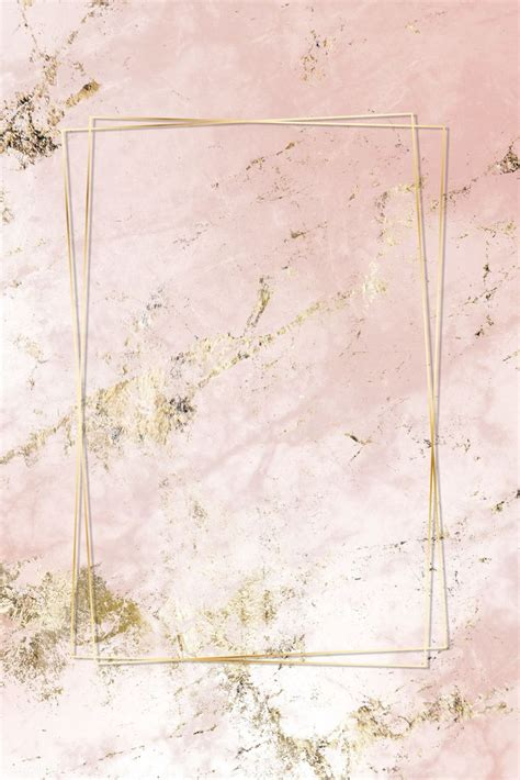 Download premium image of Pink and gold marble textured