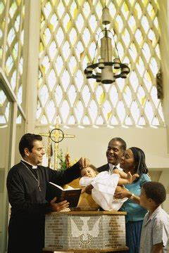 What Is the Contemporary Culture Meaning of a Baptism