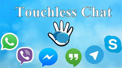 Send messages through voice with Touchless Chat Android