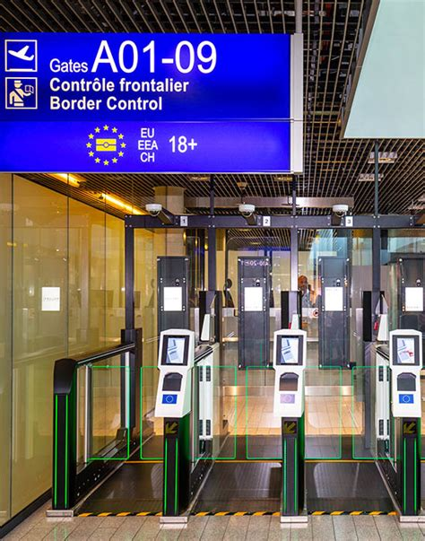 New automated border control at Luxembourg Airport