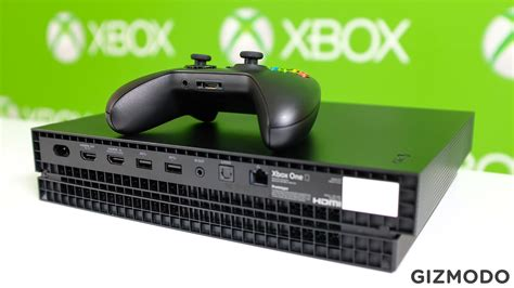 Here's A Closer Look At The Xbox One X | Gizmodo Australia