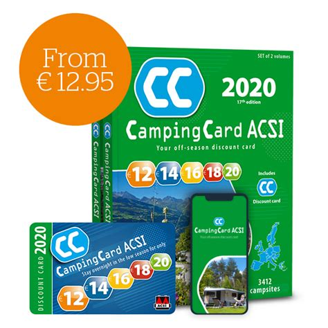 Order CampingCard ACSI | Camp for less in the low season