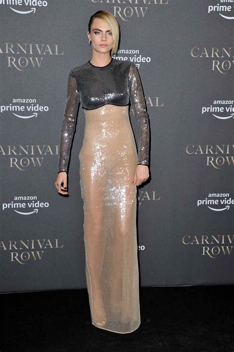 Cara Delevingne Is… You Know, Wearing This - Go Fug Yourself