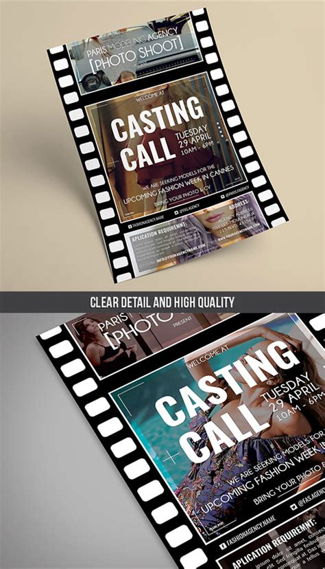 Fashion Agency Flyer PSD Template - Landisher