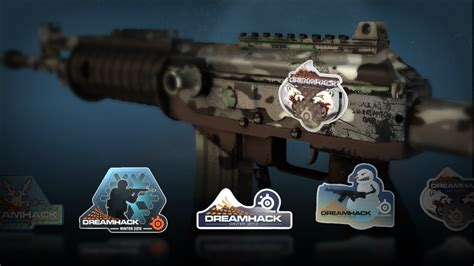 Counter-Strike: Global Offensive Dreamhack 2013 Cases