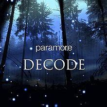 Decode (song) - Wikipedia